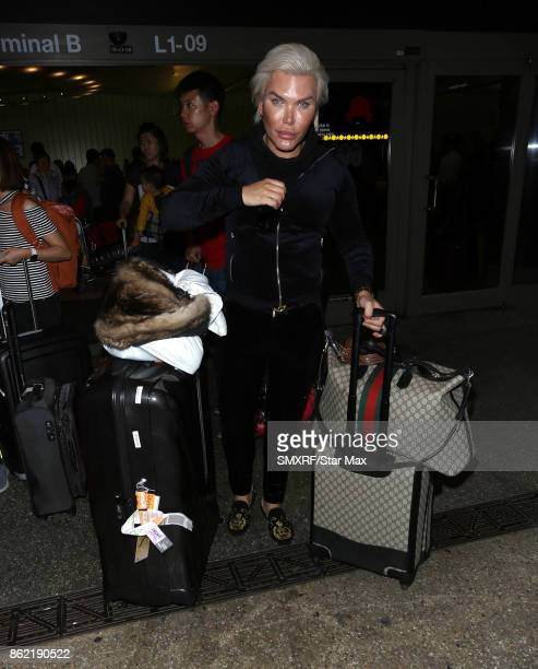 Rodrigo Alves is seen on October 16 2017 in Los Angeles California