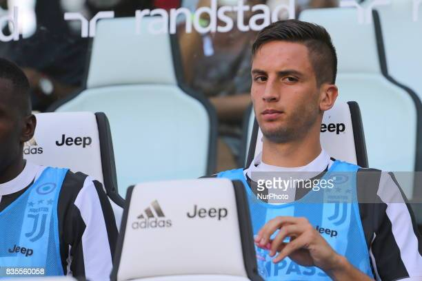 Rodrigo Bentancur before the Serie A football match between Juventus FC and Cagliari Calcio at Allianz Stadium on august 19 2017 in Turin Italy