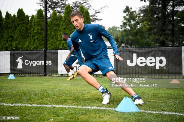 Rodrigo Bentancur during the afternoon training session on July 24 2017 in Boston City