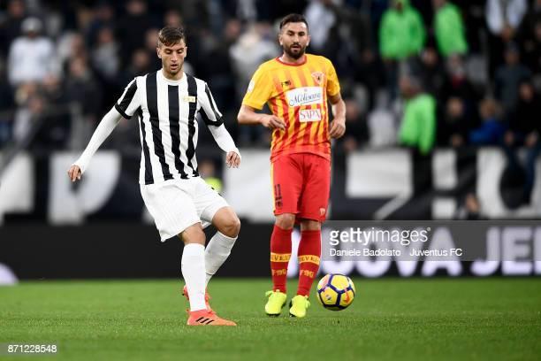 Rodrigo Bentancur during the Serie A match between Juventus and Benevento Calcio on November 5 2017 in Turin Italy