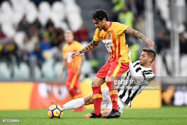 Rodrigo Bentancur during the Serie A match between Juventus and Benevento Calcio on November 5 2017 in Turin Italy