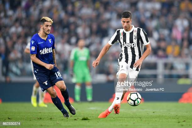 Rodrigo Bentancur during the Serie A match between Juventus and SS Lazio on October 14 2017 in Turin Italy