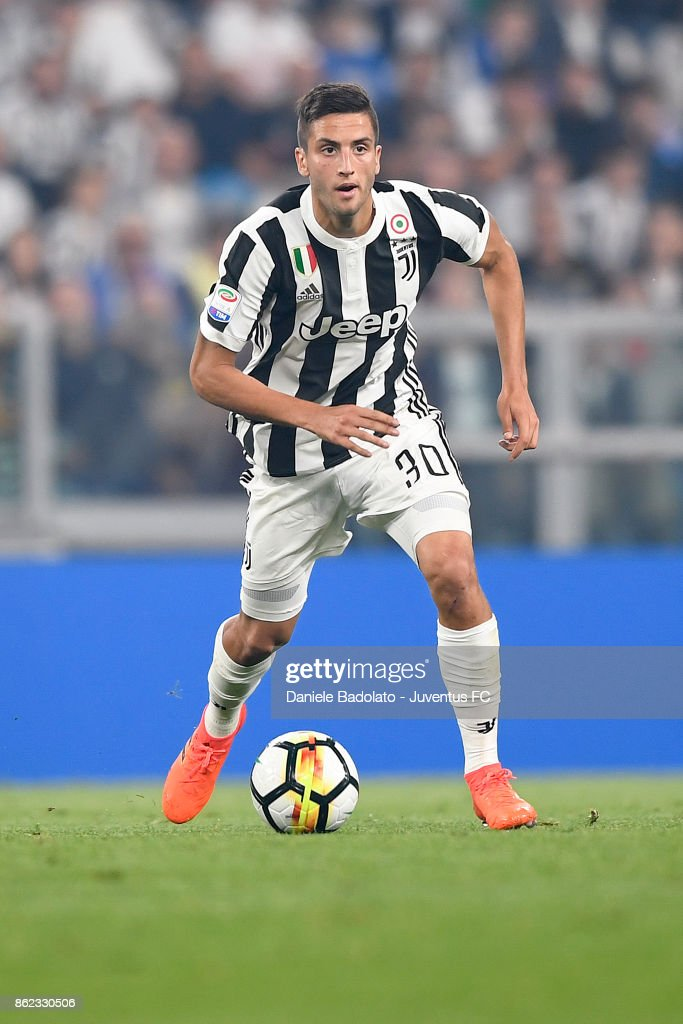 Rodrigo Bentancur during the Serie A match between Juventus and SS Lazio on October 14, 2017 in Turin, Italy.