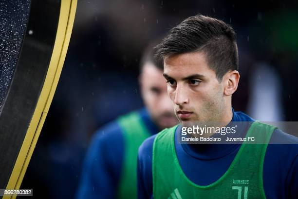 Rodrigo Bentancur during the Serie A match between Udinese Calcio and Juventus at Stadio Friuli on October 22 2017 in Udine Italy