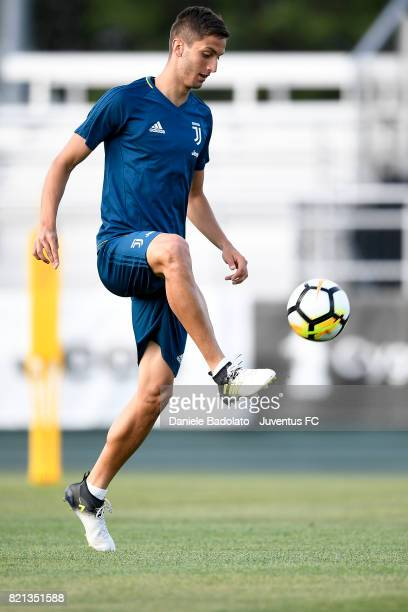 Rodrigo Bentancur of Juventus during the afternoon training session part of the Summer Tour 2017 by Jeep on July 23 2017 in Boston Massachusetts