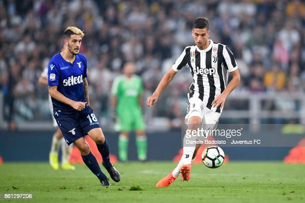 Rodrigo Bentancur of Juventus in action during the Serie A match between Juventus and SS Lazio on October 14 2017 in Turin Italy