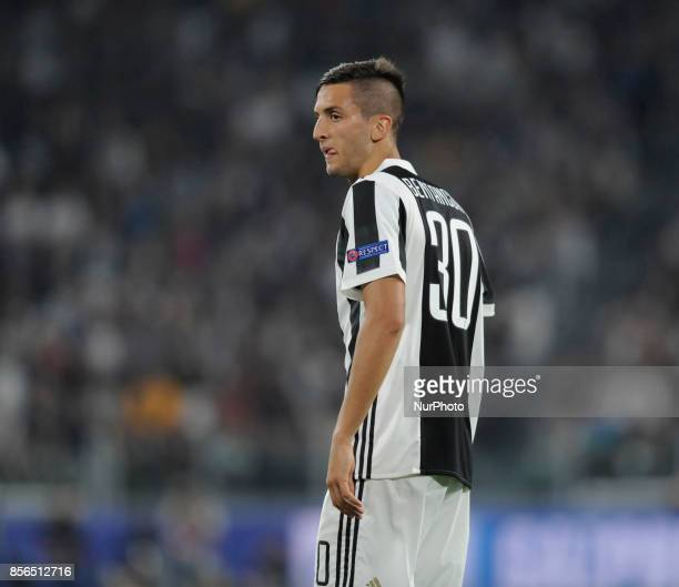 Rodrigo Bentancur of Juventus player during the Uefa Champions League 20172018 match between FC Juventus and Olympiacos FC at Juventus Stadium...