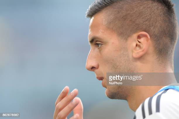 Rodrigo Bentancur of Juventus player during the warmup before the match valid for Italian Football Championships Serie A 20172018 between FC Juventus...