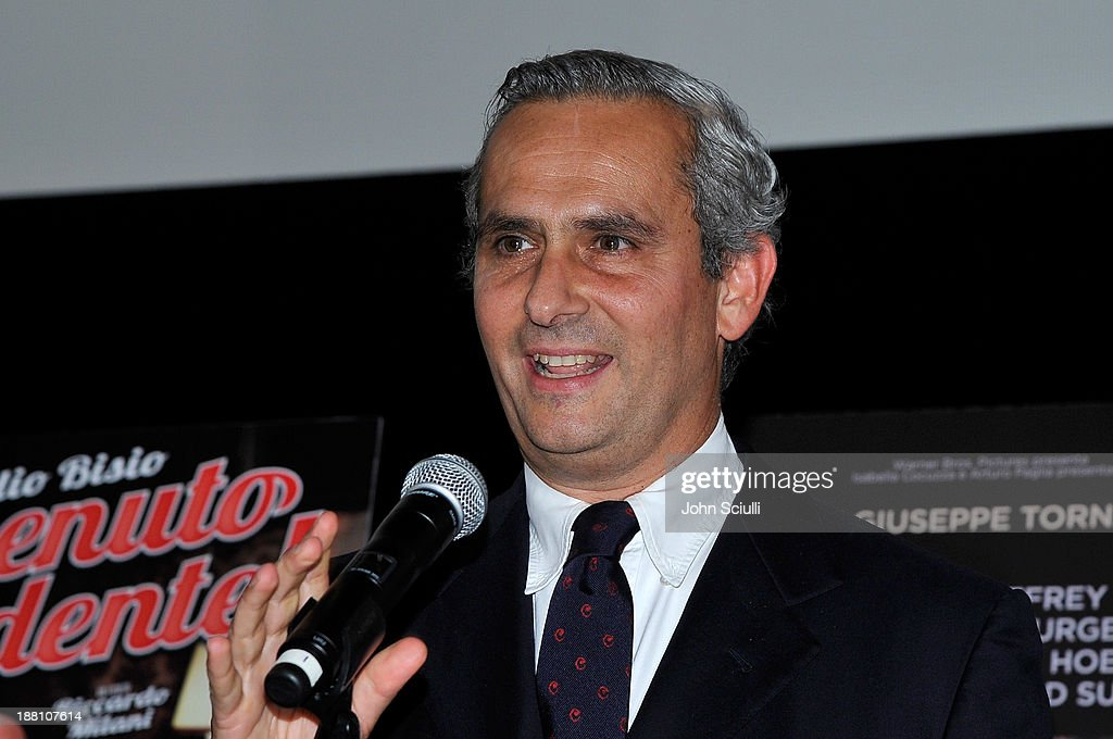 Rodrigo Cipriani Foresio, Chairman of Luce Cinecitta attends Cinema Italian Style 2013 'The Great Beauty' opening night premiere at the Egyptian Theatre on November 14, 2013 in Hollywood, California.