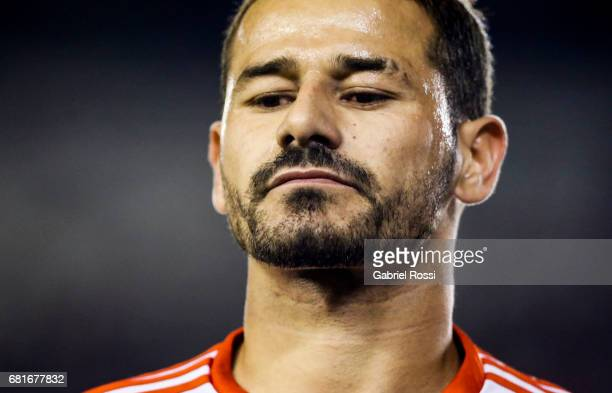Rodrigo Mora of River Plate looks on during a group stage match between River Plate and Emelec as part of Copa CONMEBOL Libertadores Bridgestone 2017...