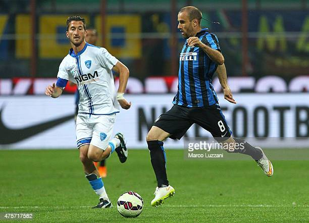 Rodrigo Palacio of FC Internazionale Milano in action during the Serie A match between FC Internazionale Milano and Empoli FC at Stadio Giuseppe...
