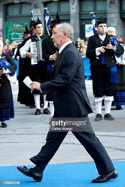 Rodrigo Rato attends 'Principe de Asturias' awards 2011 ceremony at the Campoamor Theatre on October 21 2011 in Oviedo Spain