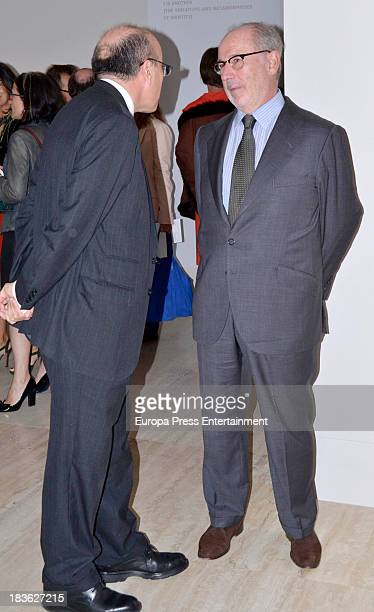 Rodrigo Rato attends the opening of 'El Surrealismo y el Sueno' painting exhibition at ThyssenBornemisza museum on October 7 2013 in Madrid Spain