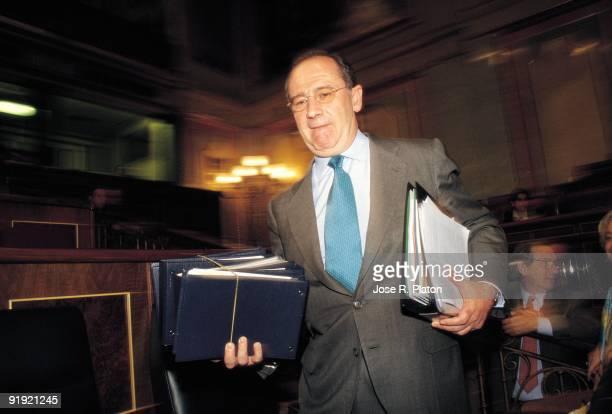 Rodrigo Rato in the Parliament `