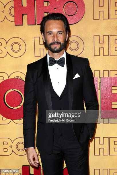 Rodrigo Santoro attends HBO's Post Emmy Awards Reception at The Plaza at the Pacific Design Center on September 17 2017 in Los Angeles California