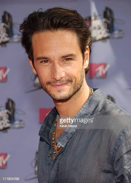 Rodrigo Santoro during 2007 MTV Movie Awards Red Carpet at Gibson Amphitheater in Los Angeles California United States