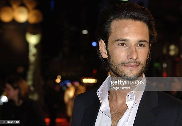 Rodrigo Santoro during '300' London Premiere Arrivals at Vue West End in London Great Britain