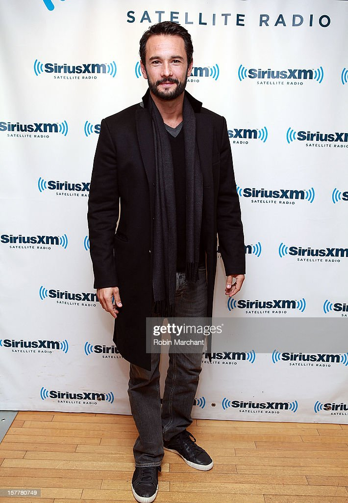 Rodrigo Santoro visits the SiriusXM Studios on December 6, 2012 in New York City.