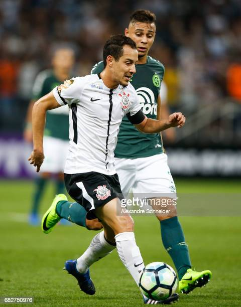 Rodriguinho of Corinthians in action during the match between Corinthians and Chapecoense for the Brasileirao Series A 2017 at Arena Corinthians...