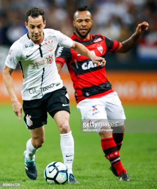 Rodriguinho of Corinthians in action during the match between Corinthians and Atletico GO for the Brasileirao Series A 2017 at Arena Corinthians...