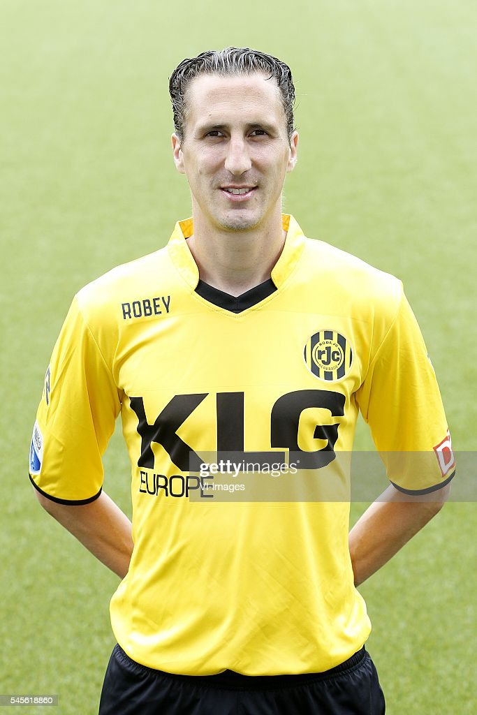 Roel Brouwers during the team presentation of Roda jc on July 08 2016 at the Parkstad Limburg stadium in Kerkrade The Netherlands