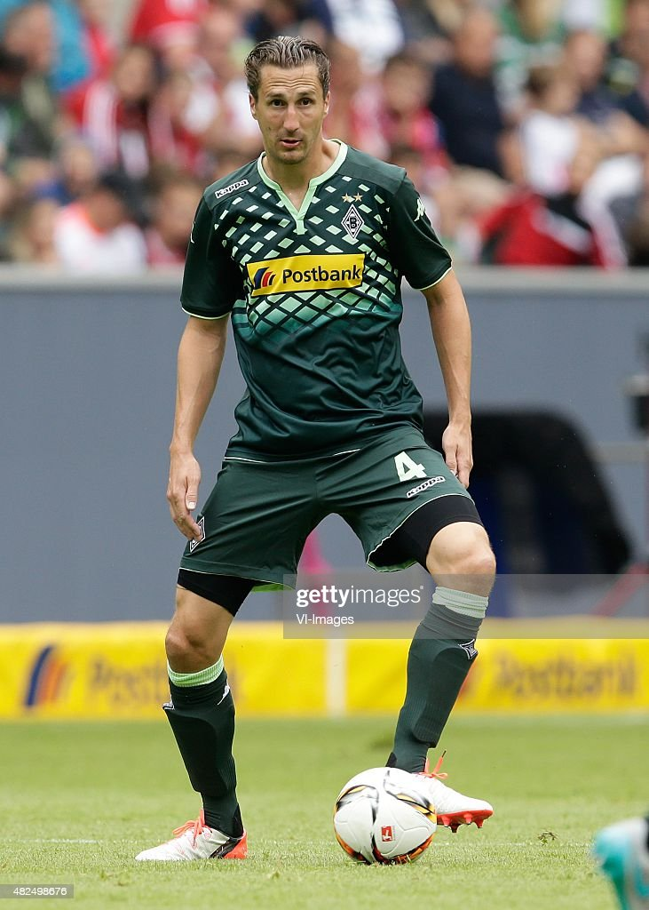 Roel Brouwers of Borussia Monchengladbach during the Telekom Cup friendly match between Borussia Monchengladbach and Hamburger SV on July 12 2015 at...