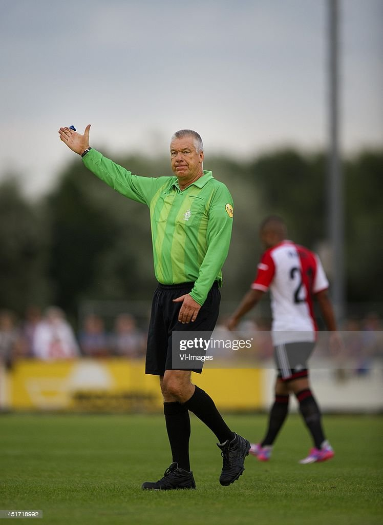 Roelof Luinge during the friendly match between VOC and Feyenoord on July 4, 2014 at Rotterdam, The Netherlands.
