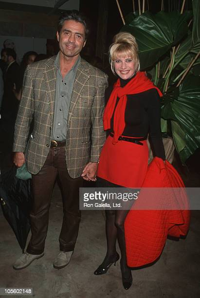 Roffredo Gaetani and Ivana Trump during 3rd Annual Urban Heroes Awards Ceremony at New York City in New York City New York United States