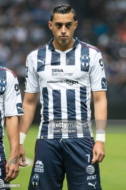 Rogelio Funes Mori of Monterrey poses prior the 6th round match between Monterrey and Pumas UNAM as part of the Torneo Clausura 2017 Liga MX at BBVA...