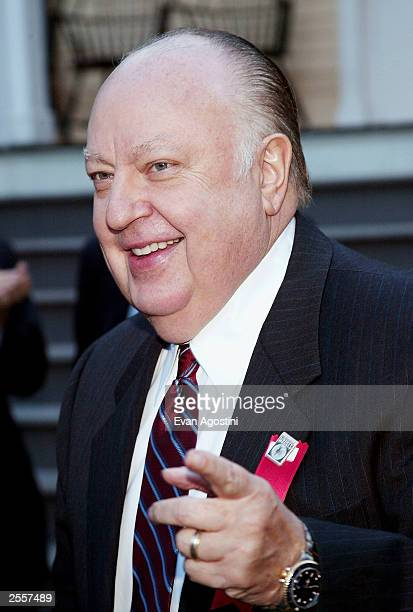 Roger Ailes attends the New York Post's second Annual Liberty Medals awards ceremony honoring New York's everyday heroes at Gracie Mansion on October...