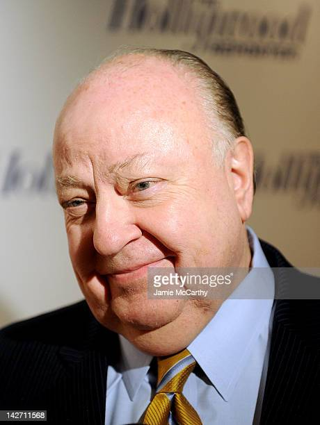 Roger Ailes President of Fox News Channel attends the Hollywood Reporter celebrates 'The 35 Most Powerful People in Media' at the Four Season Grill...