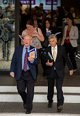 Sir John Chilcot leaves the Queen Elizabeth II conference centre after the outcome of the Chilcot report on July 6 2016 in London England The Iraq...