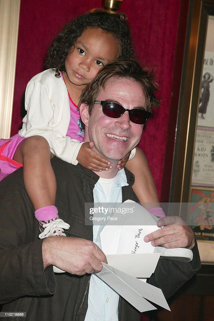 Roger Bart and daughter Eller