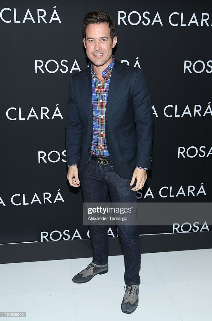 Roger Borges attends the grand opening of Rosa Clara store on March 22, 2013 in Coral Gables, Florida.