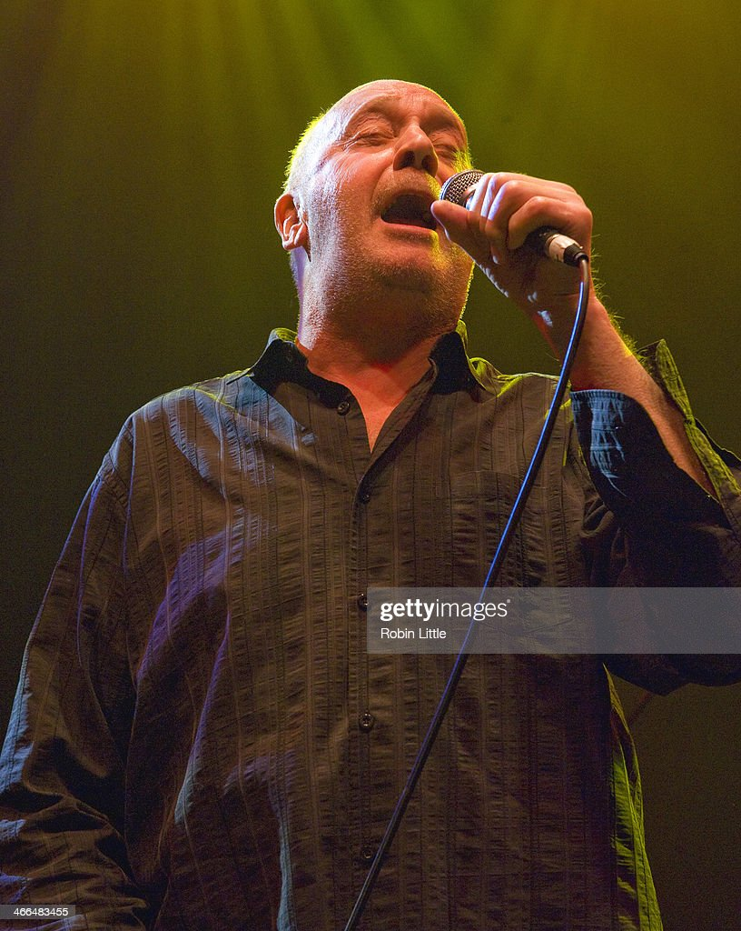 Roger Chapman of Family performs on stage at Shepherds Bush Empire on February 1, 2014 in London, United Kingdom.