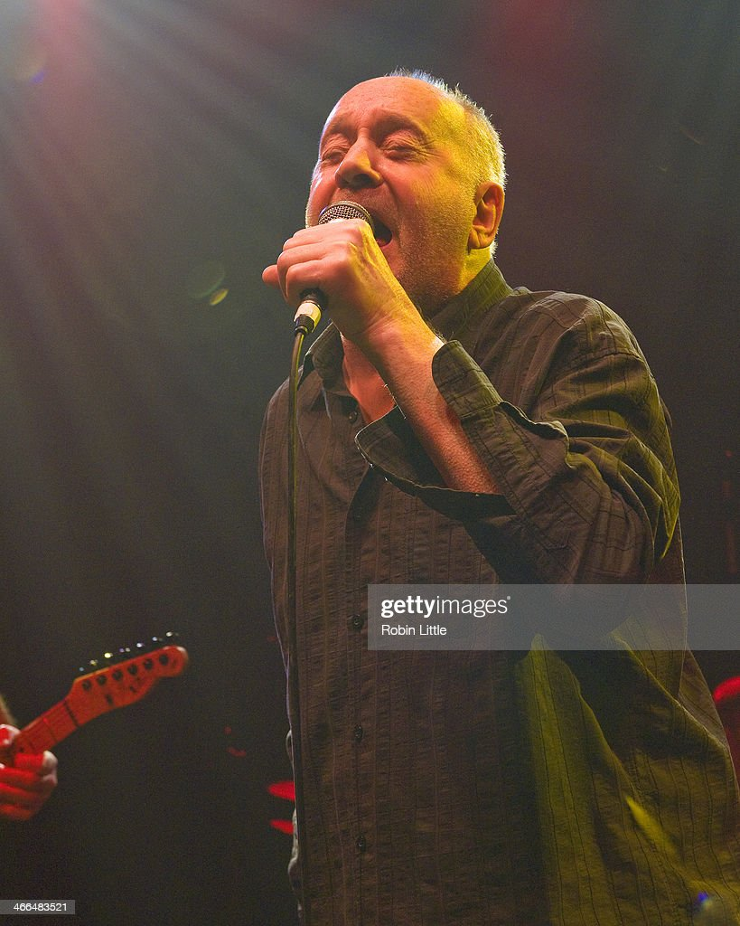 <a gi-track='captionPersonalityLinkClicked' href=/galleries/search?phrase=Roger+Chapman&family=editorial&specificpeople=569611 ng-click='$event.stopPropagation()'>Roger Chapman</a> of Family performs on stage at Shepherds Bush Empire on February 1, 2014 in London, United Kingdom.