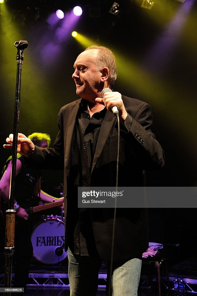 Roger Chapman of Family performs on their 40th anniversary at O2 Shepherd's Bush Empire on February 1, 2013 in London, England.