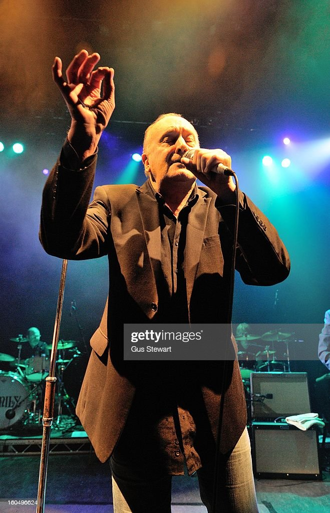 Roger Chapman of Family performs on thier 40th annivesary at O2 Shepherd's Bush Empire on February 1, 2013 in London, England.
