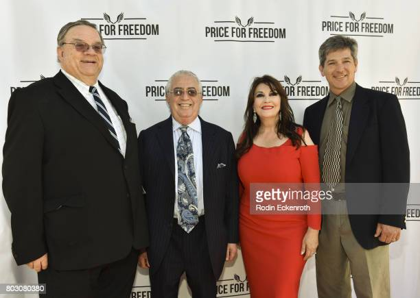Roger Cooper Marc Benhurri Mary Apick and Carl Johnson attend screening of 'Price For Freedom' at Laemmle Music Hall on June 28 2017 in Beverly Hills...