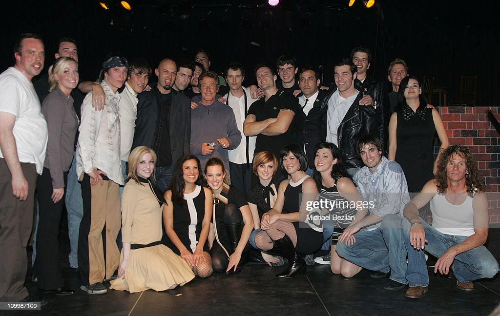 Roger Daltrey (center) and cast members during The Who's Quadrophenia Dress Rehearsal - February 22, 2006 at SIR Studio in Los Angeles, California, United States.