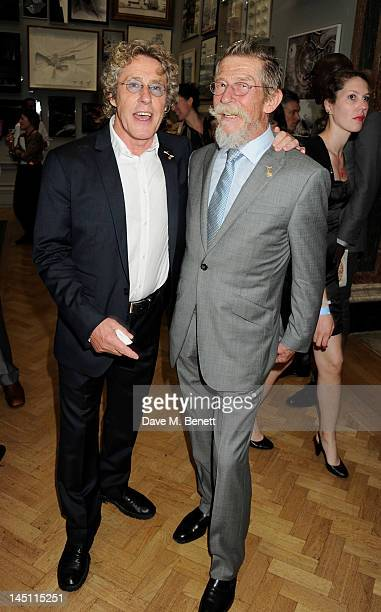 Roger Daltrey and John Hurt attend 'A Celebration Of The Arts' at Royal Academy of Arts on May 23 2012 in London England