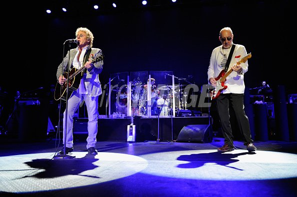 Roger Daltrey and Pete Townshend...