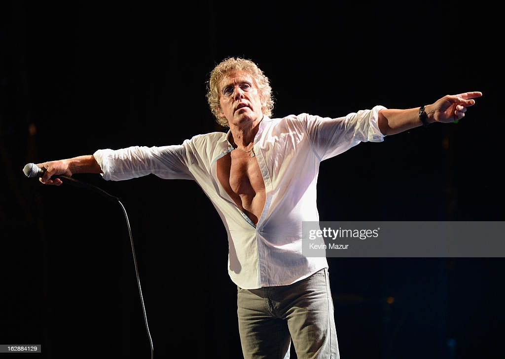 <a gi-track='captionPersonalityLinkClicked' href=/galleries/search?phrase=Roger+Daltrey&family=editorial&specificpeople=201896 ng-click='$event.stopPropagation()'>Roger Daltrey</a> of The Who performs during the Who Cares Benefit For Teen Cancer America Memorial Sloan-Kettering Cancer Center at The Theater at Madison Square Garden on February 28, 2013 in New York City.