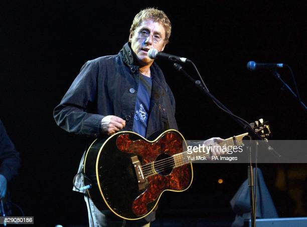 Roger Daltrey performing during the Lonnie Donegan tribute concert at the Royal Albert Hall in central London Some of the biggest names in rock took...