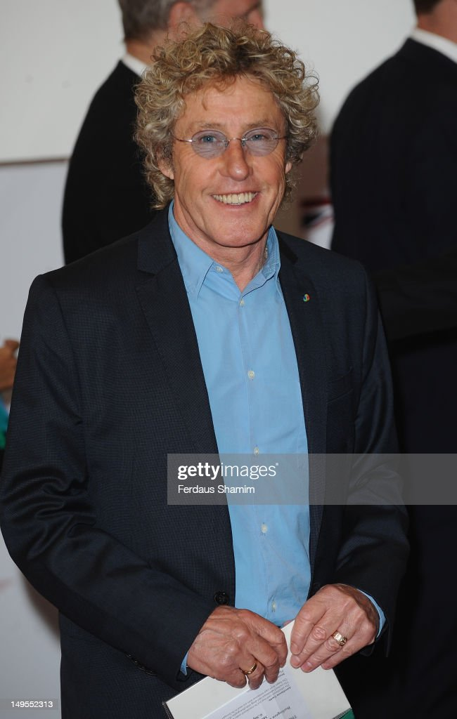 Roger Daltry attends the UK's Creative Industries Reception at Royal Academy of Arts on July 30, 2012 in London, England.