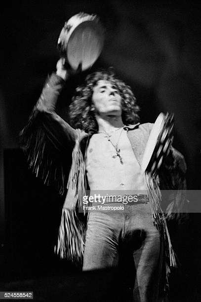 Roger Daltry performing with The Who at the Fillmore East