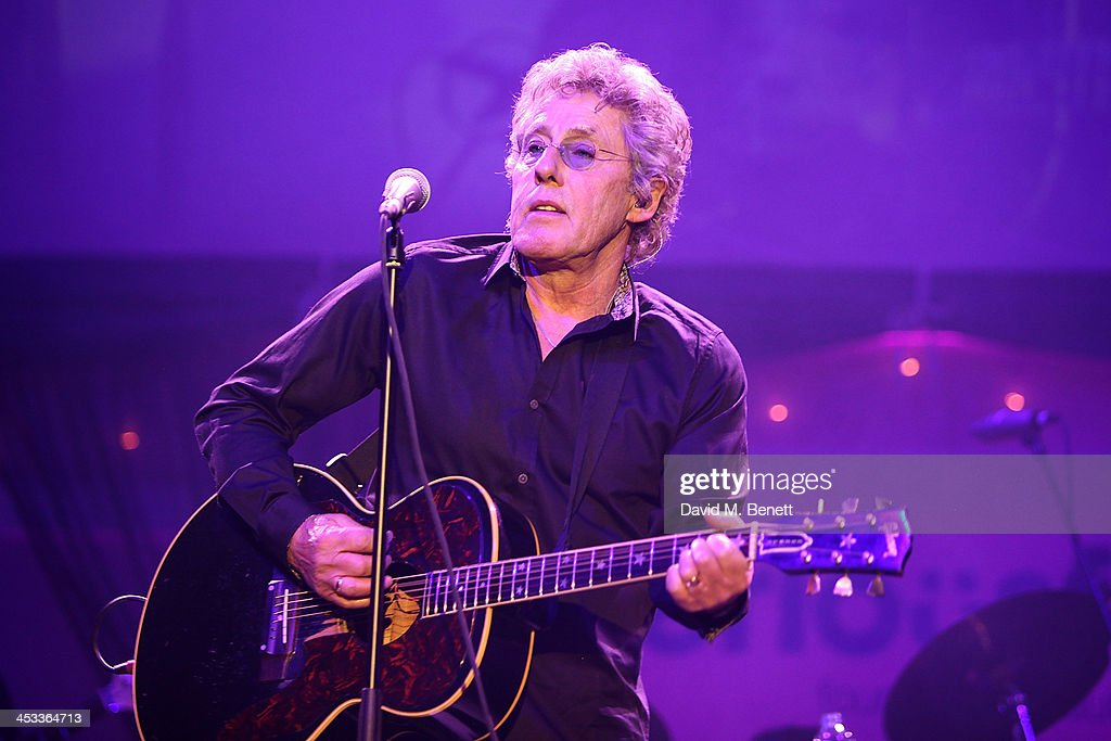 Roger Daltry performs at the SeriousFun London Gala 2013, benefiting a growing community of camps and programs serving children with serious illnesses and their families and established by Paul Newman in 1988, at The Roundhouse on December 3, 2013 in London, England.