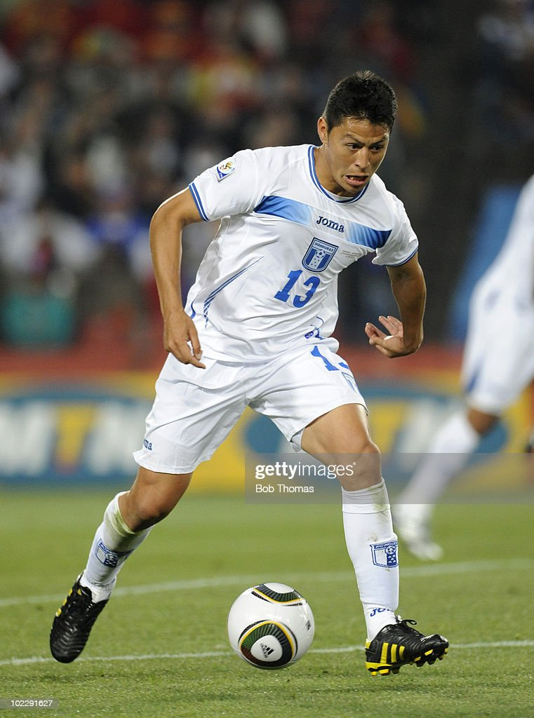 <a gi-track='captionPersonalityLinkClicked' href=/galleries/search?phrase=Roger+Espinoza&family=editorial&specificpeople=4824201 ng-click='$event.stopPropagation()'>Roger Espinoza</a> of Honduras during the 2010 FIFA World Cup South Africa Group H match between Spain and Honduras at Ellis Park Stadium on June 21, 2010 in Johannesburg, South Africa. Spain won the match 2-0.