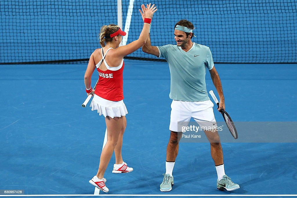 2017 Hopman Cup - Day 4