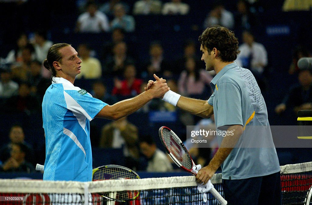 ATP - 2006 Tennis Masters Cup - First Round - David Nalbandian vs Roger Federer